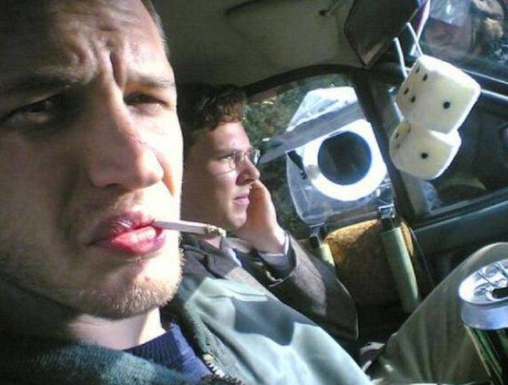 Tom Hardy en su MySpace