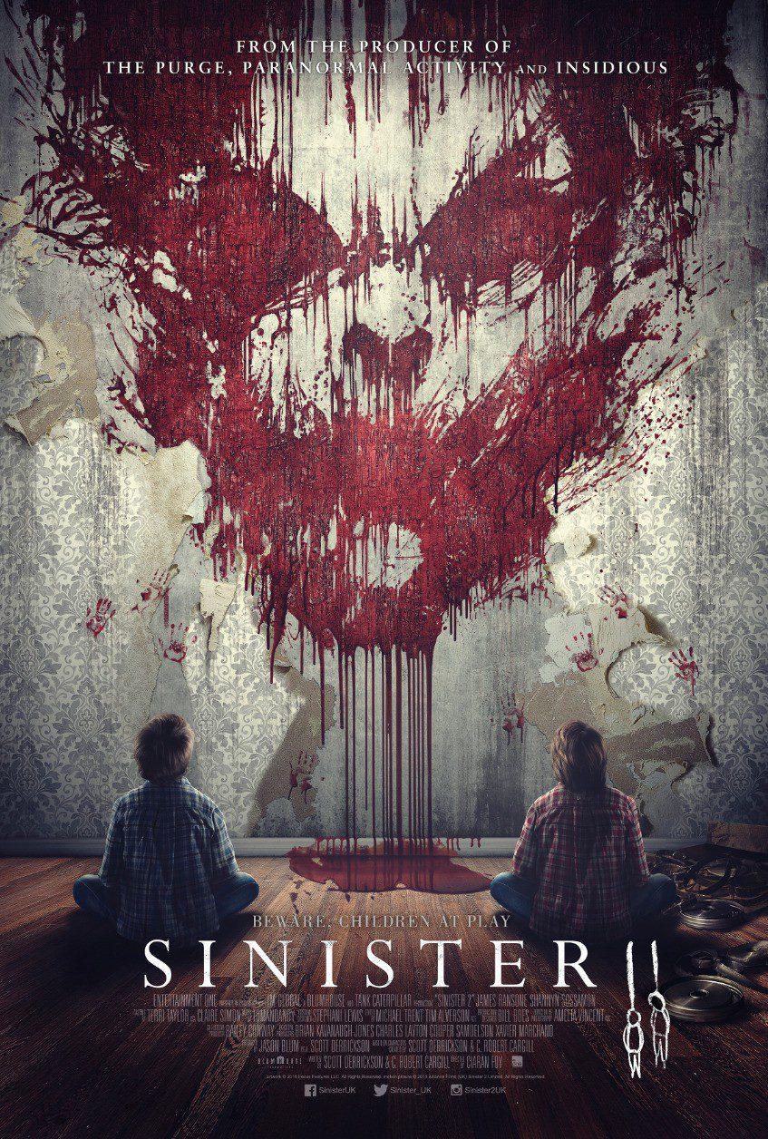 Nuevo póster terrorífico de 'Sinister 2'