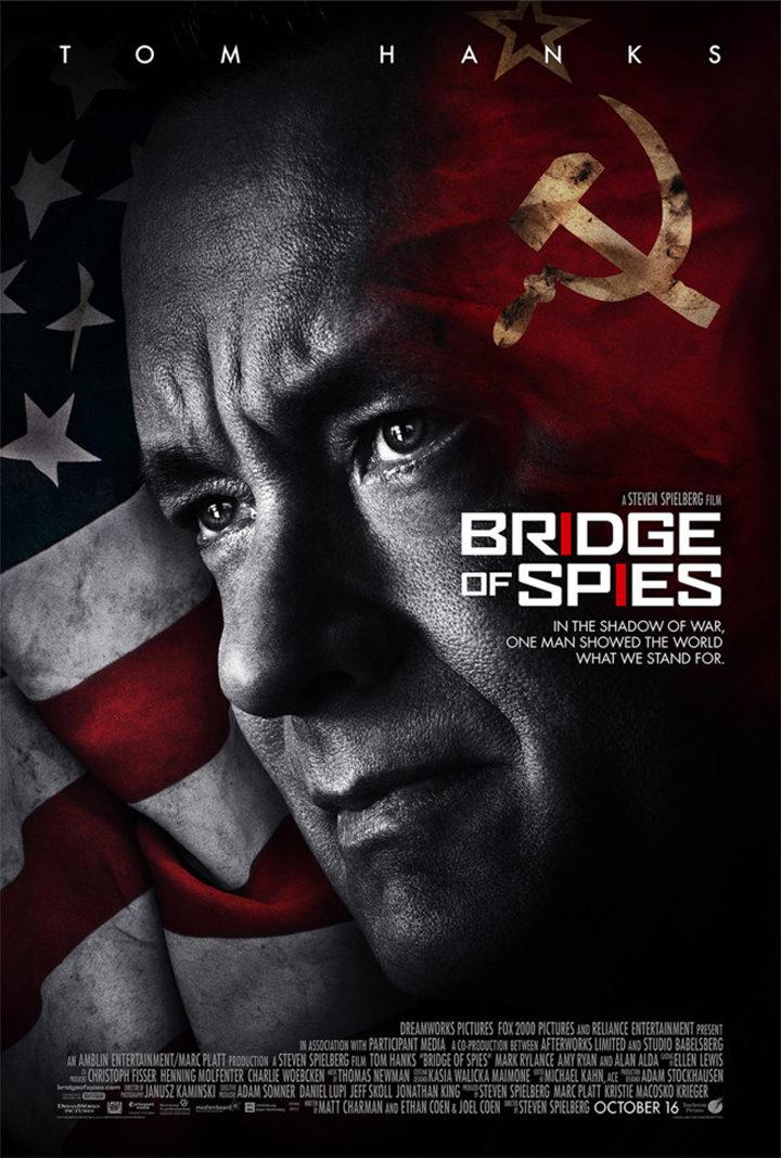 Primer tráiler y cartel de 'El Puente de los Espías', la nueva película de Tom Hanks y Steven Spielberg