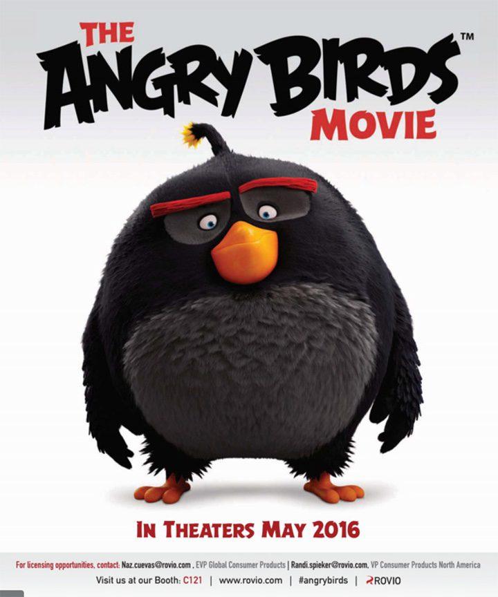 Póster de 'Angry Birds'