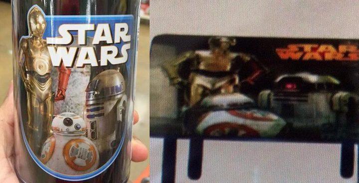 Merchandising 'Star Wars: El despertar de la Fuerza'
