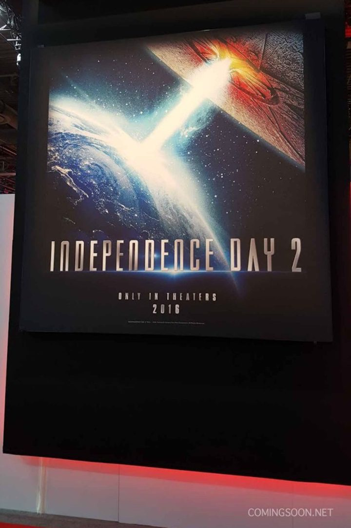 Póster promocional de 'Independence Day 2'
