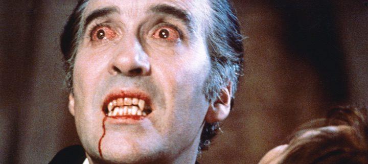Christopher Lee como 'Drácula' en la película de 1958