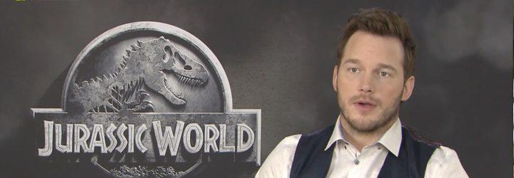 Entrevista de Chris Pratt 'Jurassic World'