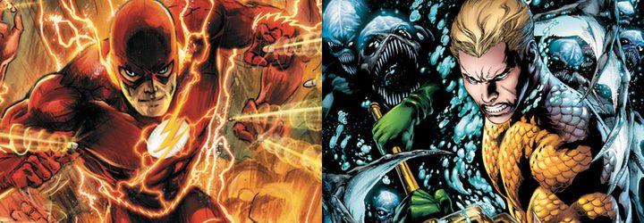 Aquaman y Flash