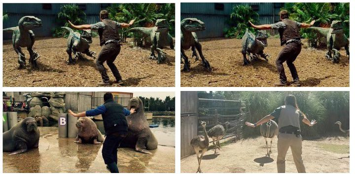 Las redes sociales se llenan de parodias de 'Jurassic World'