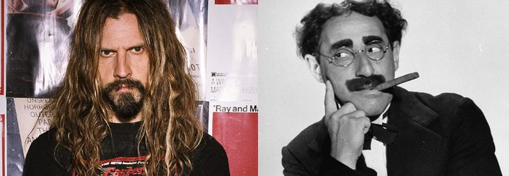 Rob Zombie y Groucho Marx
