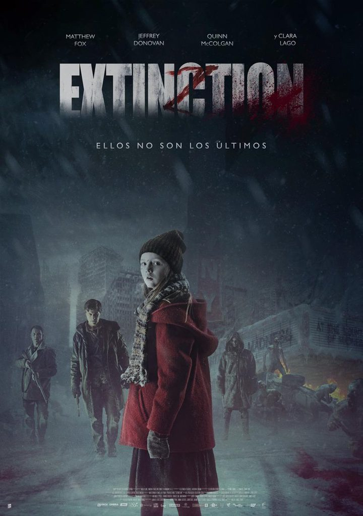 Tráiler y póster español de 'Extinction', protagonizada por Matthew Fox y Clara Lago