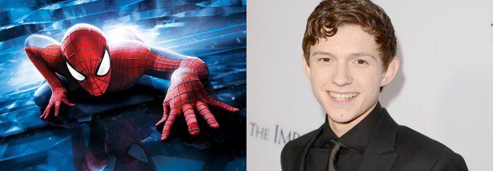 Tom Holland es elegido como el nuevo Spider-Man de Marvel