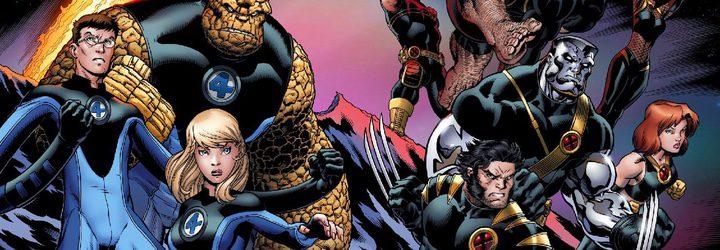 Los Cuatro Fantásticos y X-Men