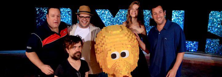 Los protagonistas de 'Pixels' en el Summer of Sony de Cancún