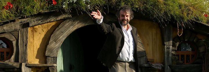 Peter Jackson en la premiere de El Hobbit