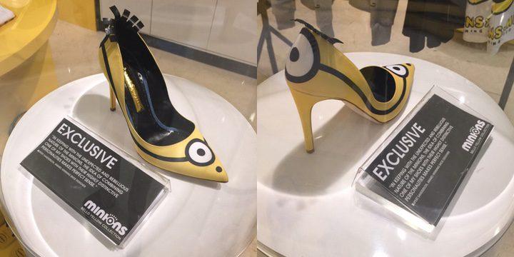 Zapatos de tacón de Los Minions