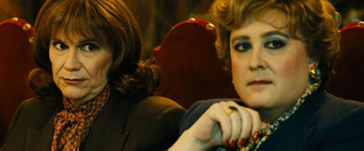 Santiago Segura y Carlos Areces en 'Las brujas de Zugarramurdi'