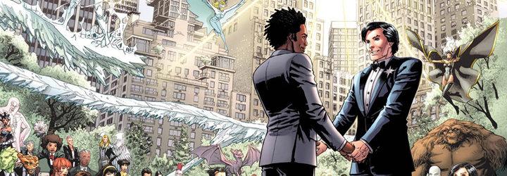 Primera boda de superhéroes homosexuales