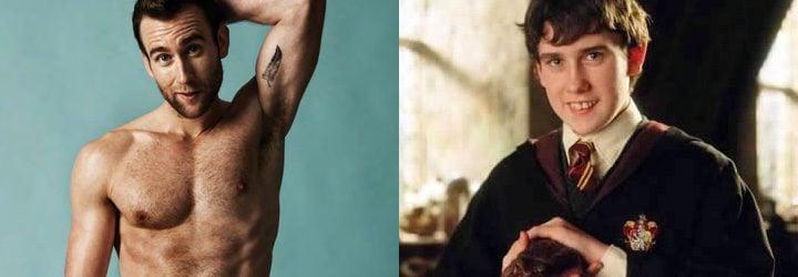 Neville Longbottom de 'Harry Potter' y Matthew Lewis