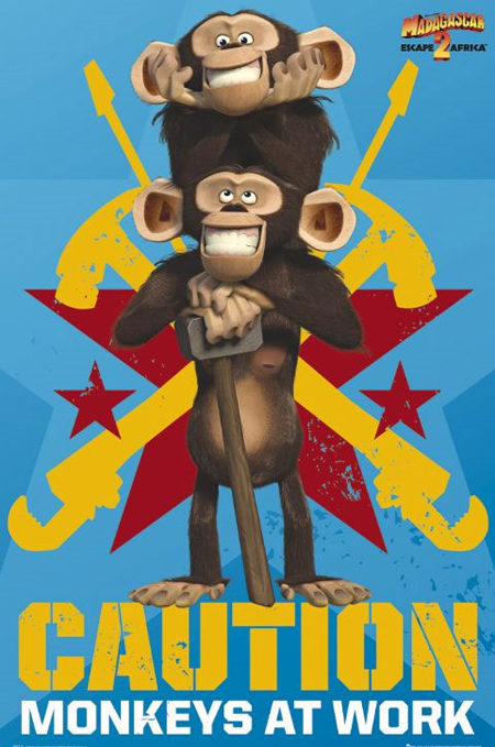Cuatro nuevos carteles para 'Madagascar 2'