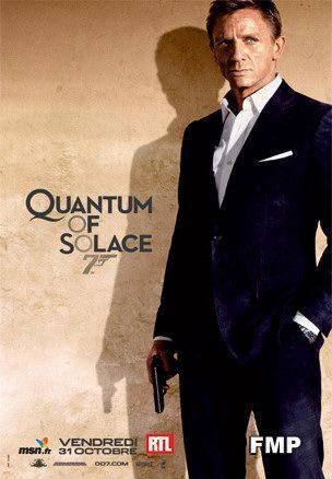 Nuevos carteles individuales de 'Quantum of Solace'