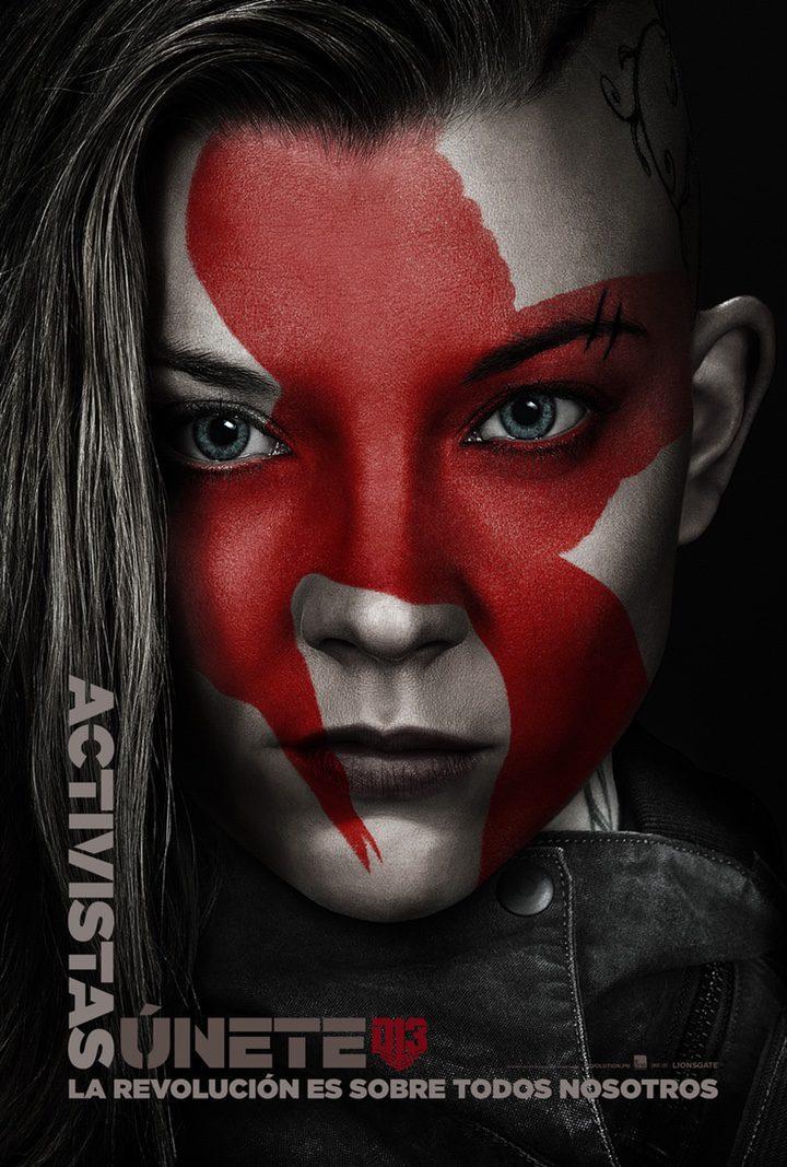 Natalie Dormer en 'Los Juegos del Hambre: Sinsajo - Parte 2'