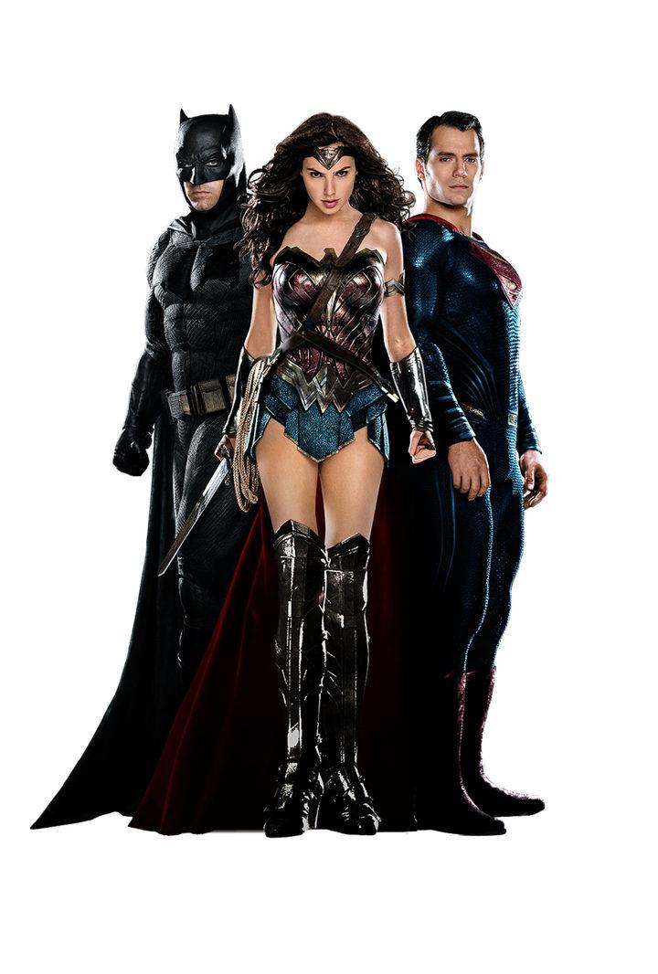 Gal Gadot, Ben Affleck y Henry Cavill para Entertainment Weekly de 'Batman v Superman: El amanecer de la justicia'