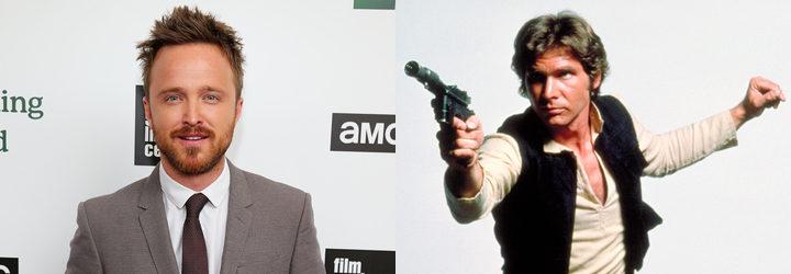 Aaron Paul y Harrison Ford