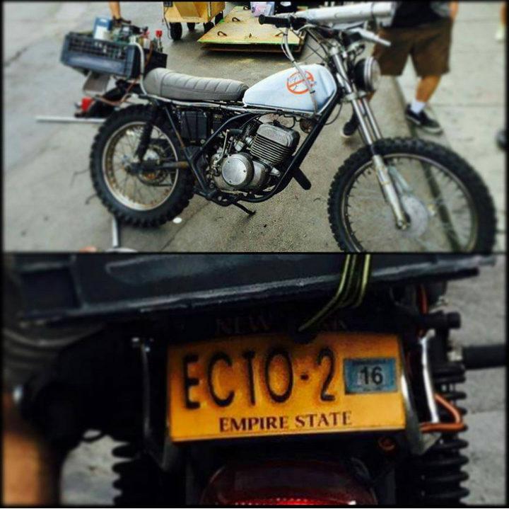 Motocicleta de 'Cazafantasmas'