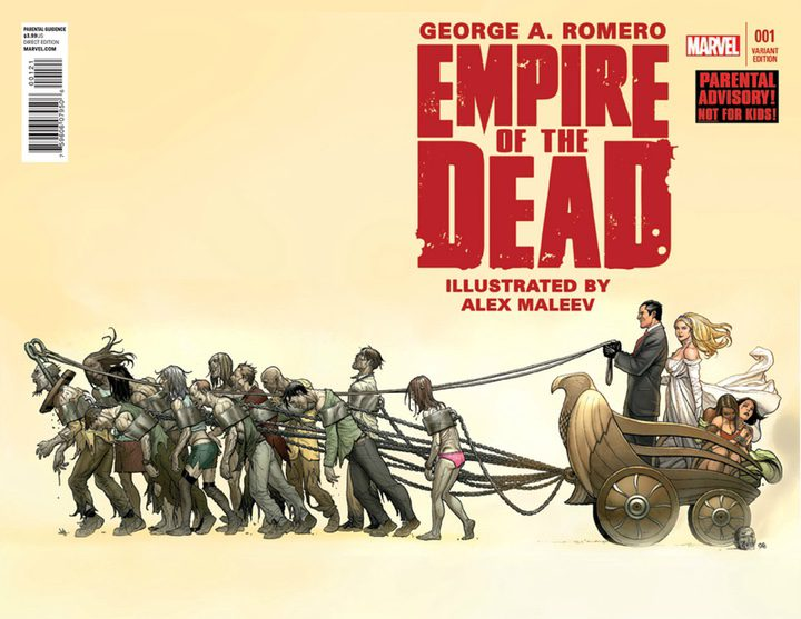 Portada de un número de 'Empire of the Dead'