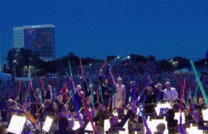 Concierto de 'Star Wars' en la Comic-Con