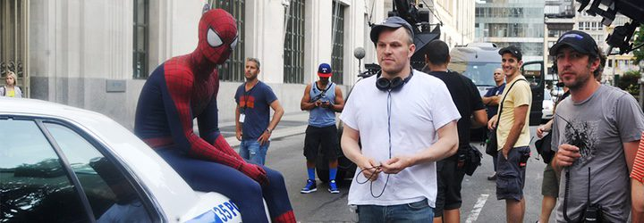 Rodaje de 'The Amazing Spider-Man' con Marc Webb