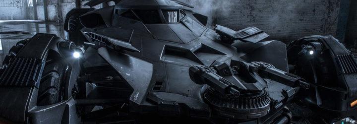 Batmóvil de 'Batman v Superman: El amanecer de la justicia'