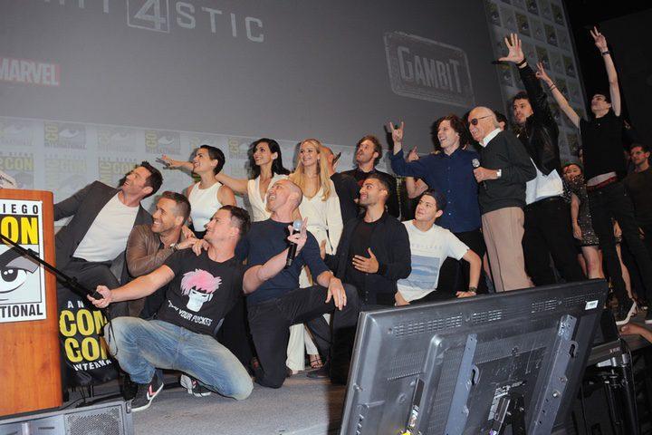 Los protagonistas de las próximas películas de 20th Century Fox haciéndose un selfie en la Comic-Con