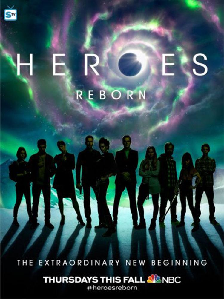 Nuevo tráiler de 'Heroes Reborn' presentado en la Comic-Con