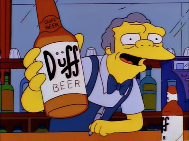 La cerveza Duff de 'Los Simpson' se venderá en todo el mundo en 2016