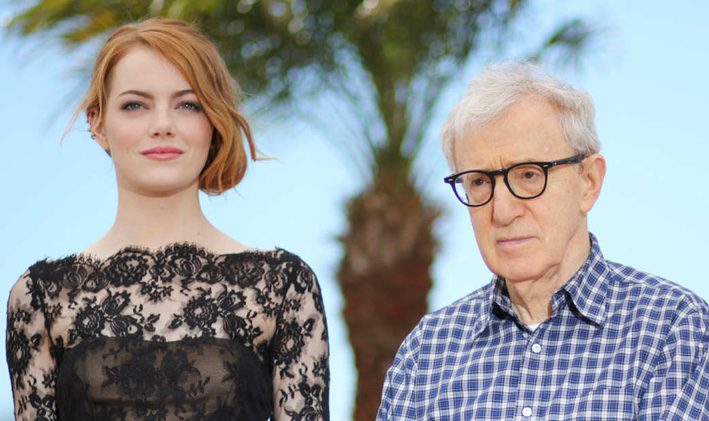 Woody Allen y Emma Stone