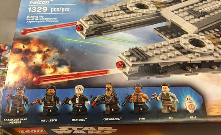 Paquete de LEGO de 'Star Wars: El despertar de la fuerza'