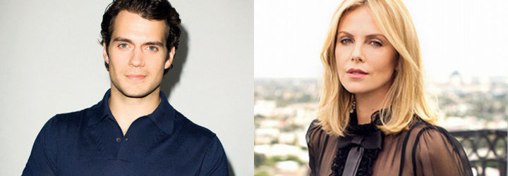 Henry Cavill y Charlize Theron