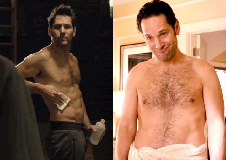 Paul Rudd, antes y después de 'Ant-Man'