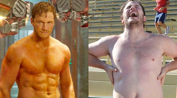 Chris Pratt, antes y después de 'Guardianes de la Galaxia'