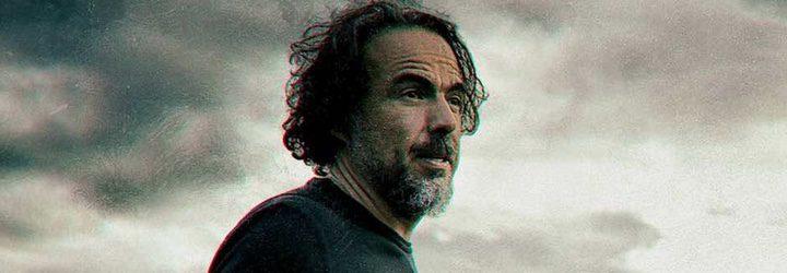 Iñárritu durante el rodaje de 'The Revenant'