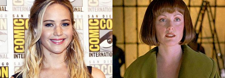 Jennifer Lawrence y Julianne Moore en 'El gran Lebowski'