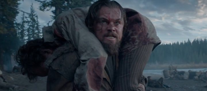 DiCaprio en una escena del rodaje