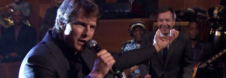Tom Cruise en el 'Tonight Show'