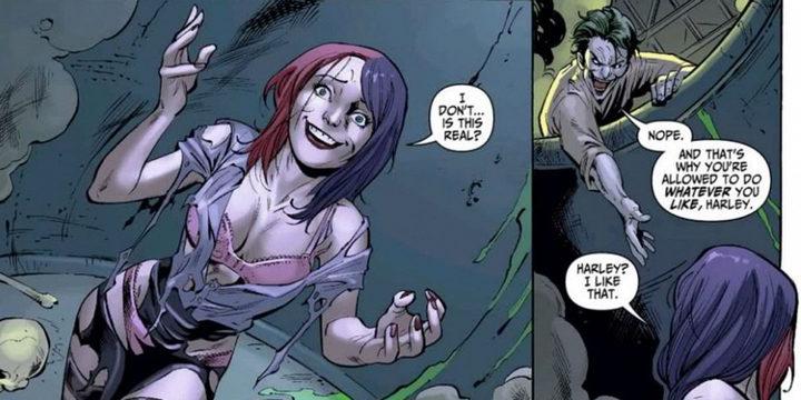 Cómic de origen de Harley Quinn