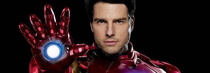 Tom Cruise como 'Iron Man'
