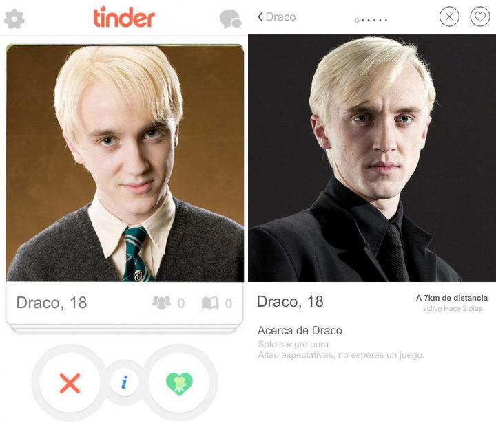 Tinder Draco Malfoy
