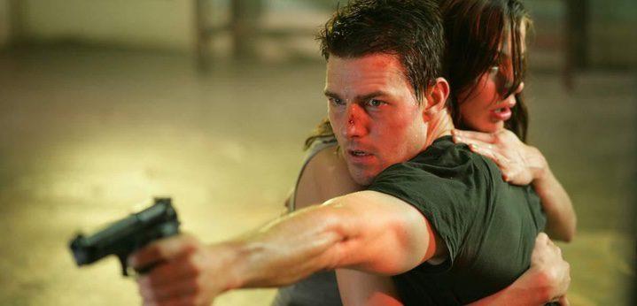 Cruise como Ethan Hunt en 'Misión Imposible II'
