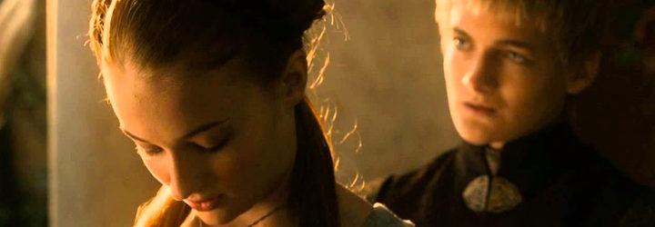 Joffrey y Sansa en 'Juego de tronos'