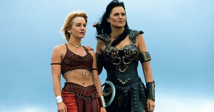 Gabrielle y Xena
