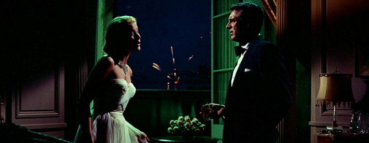 Grace Kelly y Cary Grant