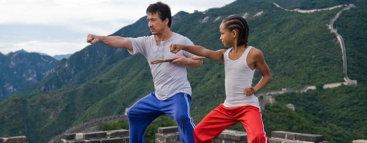 Jackie Chan y Jaden Smith